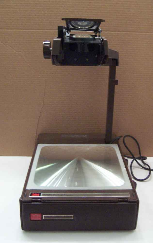 3m 6200 portable briefcase overhead projector 6200 agb for Used pocket projector